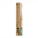 Hydrophil Бамбуковая зубная щетка средней мягкости (зеленая) 1 шт.