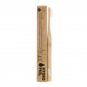 Hydrophil Бамбуковая зубная щетка средней мягкости (натуральная) 1 шт.