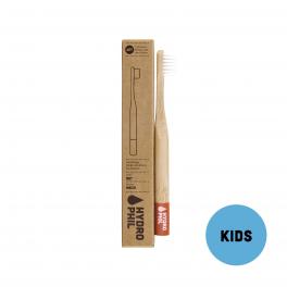 Hydrophil Детская бамбуковая зубная щетка очень мягкая (красная) 1 шт.