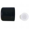 Farfalla Крышка с капельницей (для жидких масел), черная, 6 шт.