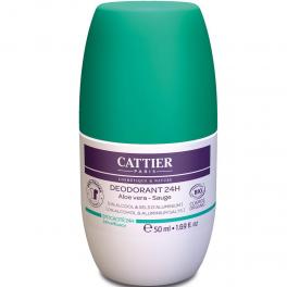 Cattier Шариковый дезодорант 24 часа 50 мл