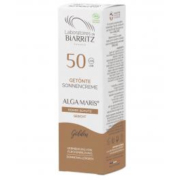 Alga Maris Солнцезащитный БИО-крем для лица тональный Золотой SPF 50 50 мл