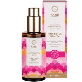 KHADI Аюрведический эликсир для кожи Pink Lotus Beauty 100 мл