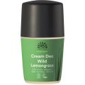 URTEKRAM Дезодорант-крем с лемонграссом 50 мл