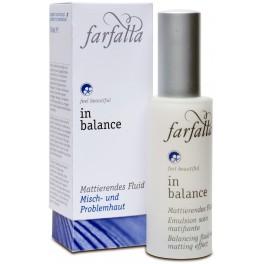 Farfalla In Balance Балансирующий флюид с матирующим эффектом 30 мл