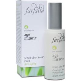 Farfalla Age Miracle Ночной чудо-флюид для лица 30 мл