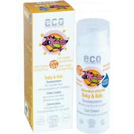 ECO-Cosemtics Детский солнцезащитный крем SPF 50+ 50 мл