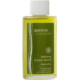 Apeiron Keshawa Травяное масло для поврежденных волос 100 мл