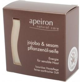 Apeiron Аюрведическое растительное мыло Жожоба и Кунжут 100 г