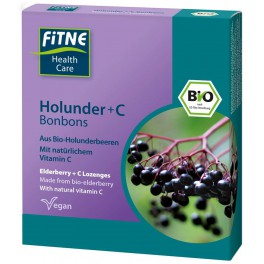 FITNE Органические леденцы Витамин С и Бузина 50 г (20 штук)