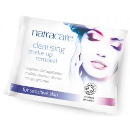 Natracare Салфетки для снятия макияжа для чувствительной кожи 20 штук