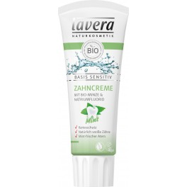 LAVERA Освежающая зубная БИО паста «Мятная» Basis Sensitiv 75 мл