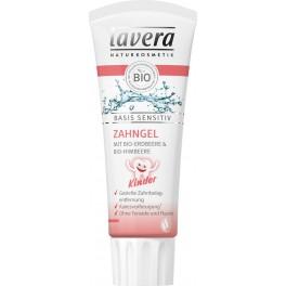 LAVERA Детская зубная БИО паста для малышей Basis Sensitiv 75 мл