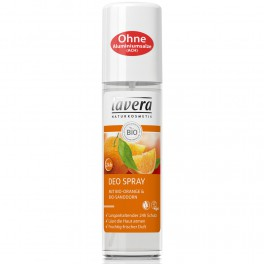 LAVERA БИО дезодорант-спрей «Апельсиновое чувство» 24 часа 75 мл