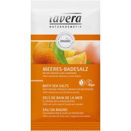 LAVERA Морская БИО соль для принятия ванн «Апельсиновое чувство» 80 г