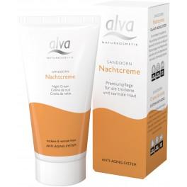 Alva Облепиховый ночной крем для зрелой кожи 50 мл
