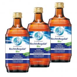 3 x Dr. Niedermaier Rechtsregulat® Bio 350 мл