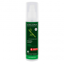 LOGONA Спрей (жидкость) для укладки феном с бамбуком 150 мл