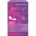 Natracare Прокладки при недержании «Драй-энд-лайт» Тонкие 20 штук
