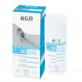ECO-Cosmetics Солнцезащитный лосьон НЕЙТРАЛЬНЫЙ SPF 30, без запаха 100 мл