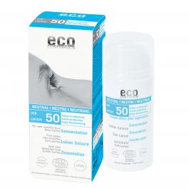ECO-Cosmetics Солнцезащитный лосьон НЕЙТРАЛЬНЫЙ SPF 50, без запаха 100 мл