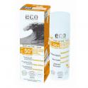 ECO-Cosmetics Солнцезащитный крем SURF and FUN SPF 50+ с эффектом загара 50 мл