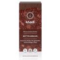 """KHADI Органическая краска для волос """"Средне-коричневый"""" 100 г"""