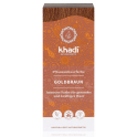 """KHADI Органическая краска для волос """"Золотисто-коричневый"""" 100 г"""