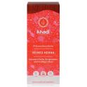 """KHADI Органическая краска для волос """"Ярко-красный"""" 100 г"""