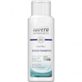 LAVERA Нейтральный БИО шампунь для волос и тела 200 мл