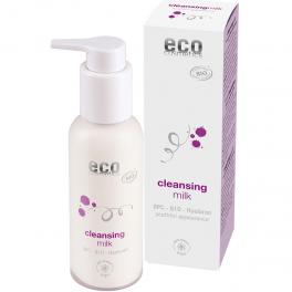 ECO-Cosmetics Антивозрастное очищающее молочко с OPC, Q10 и Гиалуроном 100 мл
