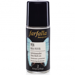 Farfalla Men Роликовый дезодорант 24 часа 50 мл