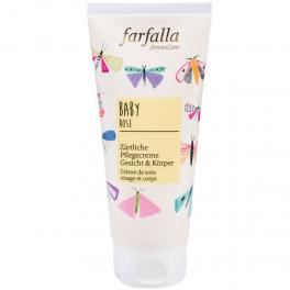 Farfalla Baby Нежный крем для лица и тела с розой 100 мл