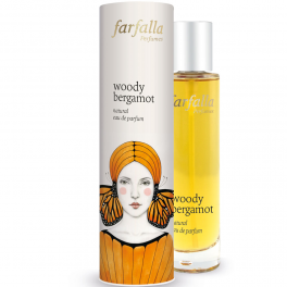 Farfalla Натуральная парфюмерная вода woody bergamot 50 мл