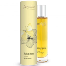 Farfalla Натуральный одеколон Eau de Cologne Франжипани 50 мл