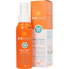 Biosolis Солнцезащитный спрей SPF 50 100 мл