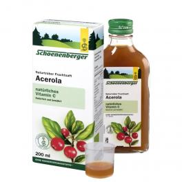 Schonenberger Фруктовый сок био ацеролы 200 мл