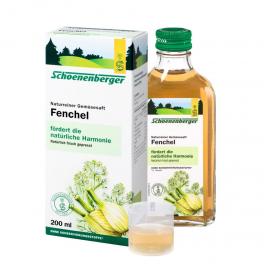 Schonenberger Овощной сок био фенхеля 200 мл