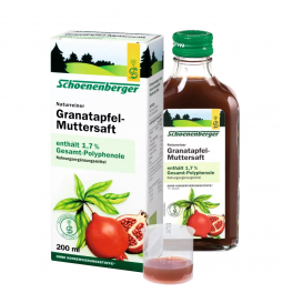 Schonenberger Фруктовый сок био граната 200 мл